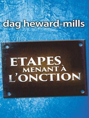 cover image of Étapes Menant à l'onction
