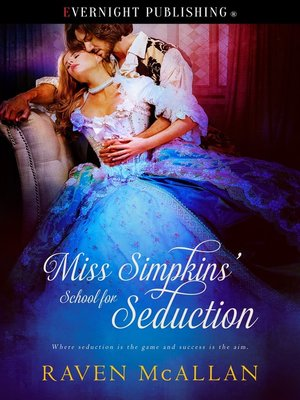 cover image of Miss Simpkins' School for Seduction