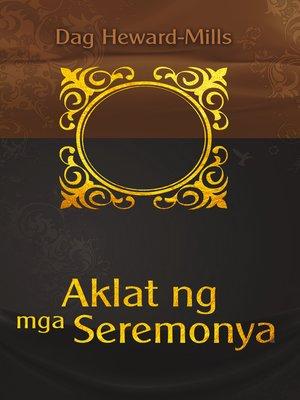 cover image of Aklat ng mga Seremonya