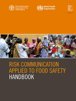 cover image of Risk Communication Applied to Food Safety Handbook