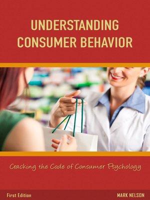 cover image of Understanding Consumer Behavior