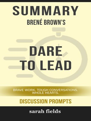 cover image of Summary of Dare to Lead