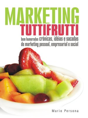 cover image of Marketing Tutti-Frutti