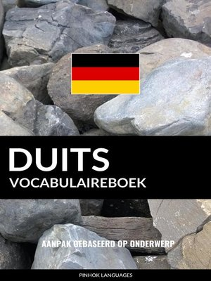 cover image of Duits vocabulaireboek