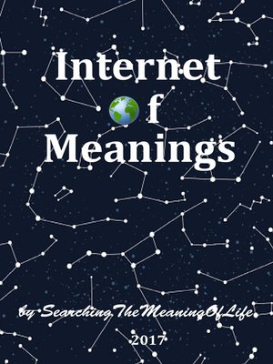 cover image of IoM [Internet of Meanings]