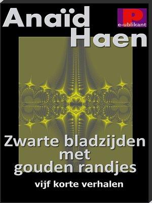 cover image of Zwarte bladzijden met gouden randjes