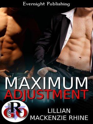 cover image of Maximum Adjustment