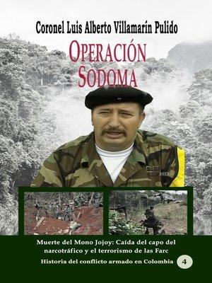 cover image of Operación Sodoma Muerte del Mono Jojoy