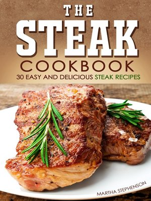 cover image of The Steak Cookbook