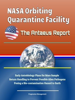 cover image of NASA Orbiting Quarantine Facility