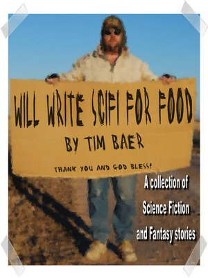 cover image of Will Write SciFi For Food