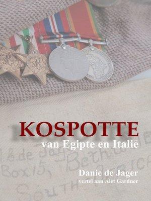 cover image of Kospotte van Egipte en Italië