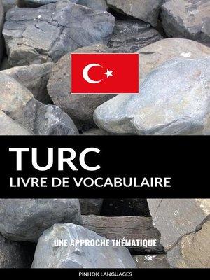 cover image of Livre de vocabulaire turc