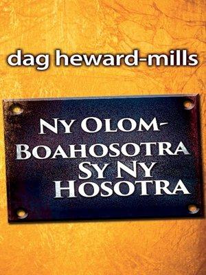 cover image of Ny Olom-Boahosotra Sy Ny Hosotra