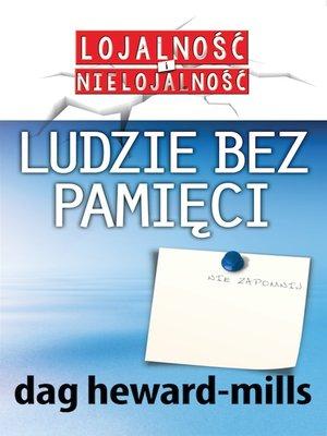 cover image of Ludzie bez pamięci