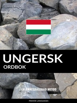 cover image of Ungersk ordbok