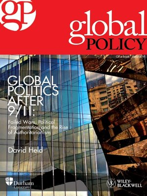 cover image of Global Politics After 9/11