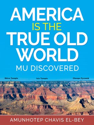 """cover image of """"America is the True Old World"""""""