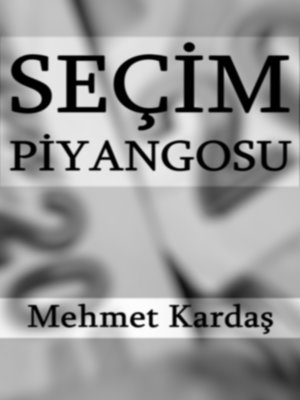 cover image of Seçim Piyangosu