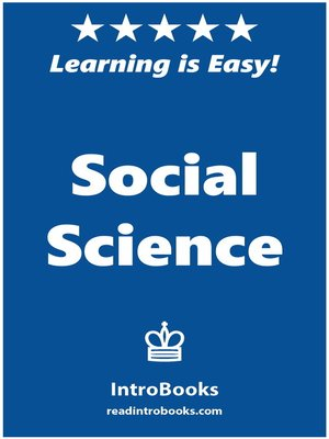 cover image of Social Science