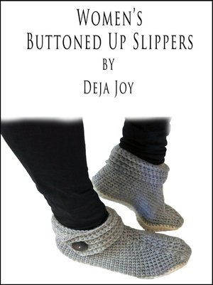 cover image of Women's Buttoned Up Slipper