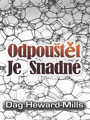 cover image of Odpouštět Je Snadné