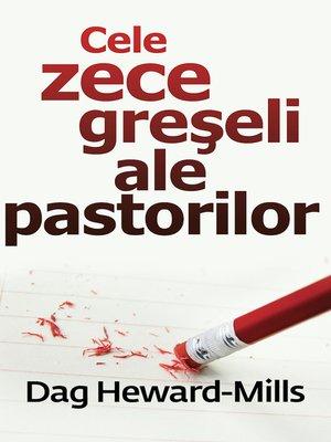 cover image of Cele Zece Greşeli Ale Pastorilor