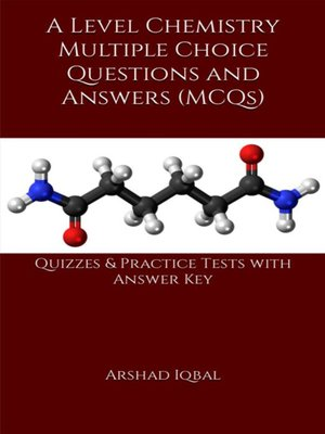 cover image of A Level Chemistry MCQs