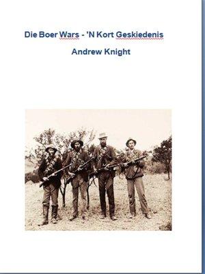 cover image of Die Boer Wars