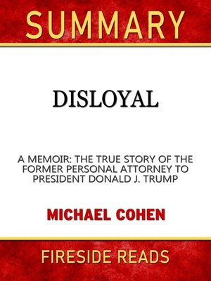 cover image of Summary of Disloyal