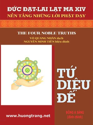 cover image of Tứ diệu đế (The four noble truths)