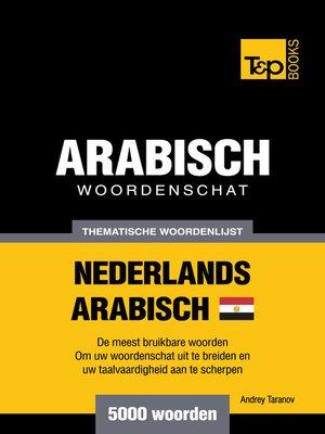cover image of Thematische woordenschat Nederlands