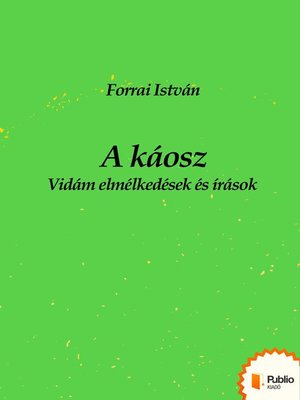 cover image of A káosz