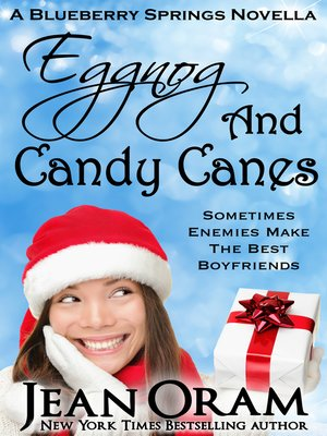 cover image of Eggnog and Candy Canes