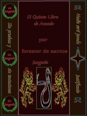 cover image of El Quinto Libro de Amado