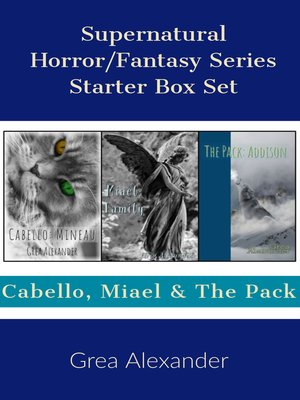 cover image of Supernatural Horror/Fantasy Series Starter Box Set