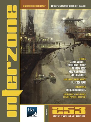 cover image of Interzone #253 Jul