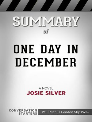 cover image of Summary of One Day in December