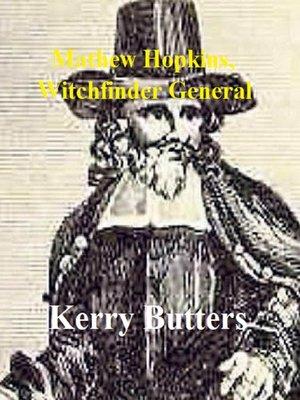 cover image of Mathew Hopkins, Witchfinder General.