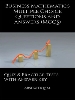 cover image of Business Mathematics MCQs