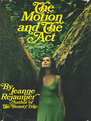 cover image of The Motion and the Act