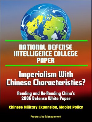 cover image of National Defense Intelligence College Paper