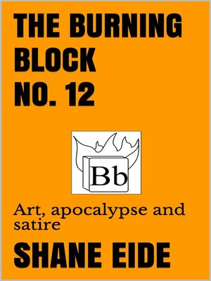 cover image of The Burning Block No. 12