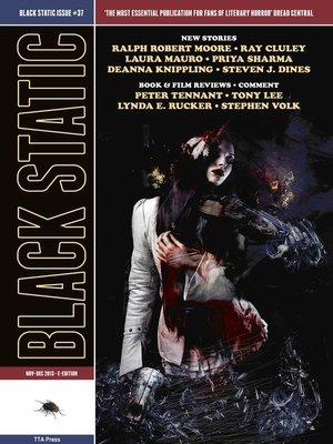 cover image of Black Static #37 Horror Magazine