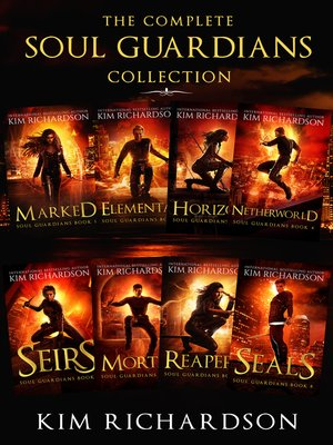cover image of The Complete Soul Guardians Collection