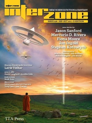cover image of Interzone 236 Sept