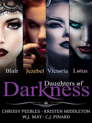 cover image of Daughters of Darkness--The Anthology (4 Paranormal Romance Novels)