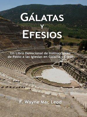 cover image of Gálatas y Efesios
