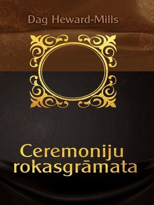 cover image of Ceremoniju rokasgrāmata
