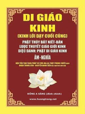 cover image of Di Giáo Kinh.